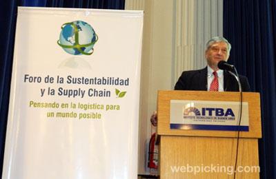 El rector del ITBA Ing. Roces realizó la apertura