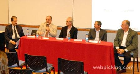 Rodolfo Fiadone, Luis ulla, Daniel Palacios, Daniel Blanco y Carlos Quattrini