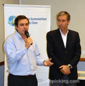 Diego Travaglino y José Poncio